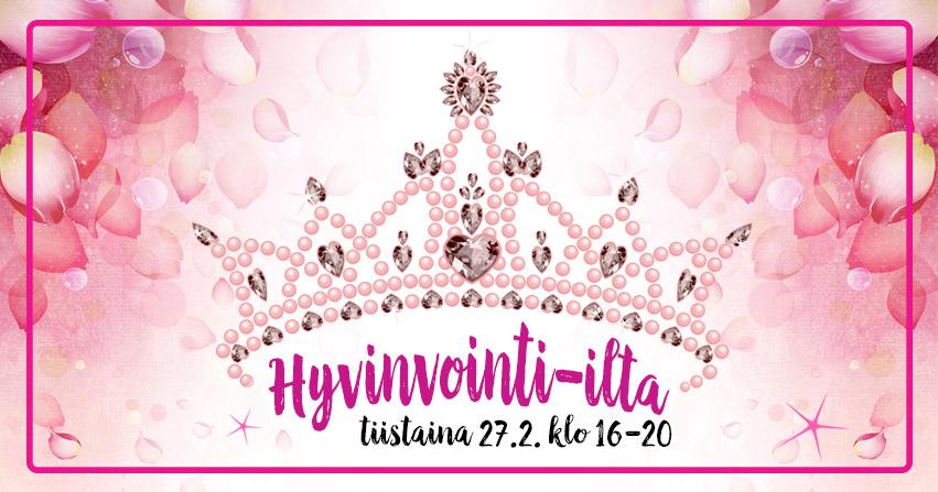 Kuopion Kukkatoimituksen hyvinvointi-ilta 2018-facebook-tapahtumakuva
